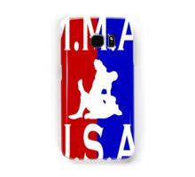 U.S.A. M.M.A. logo 1 Samsung Galaxy Case/Skin