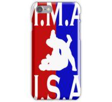 U.S.A. M.M.A. logo 2 iPhone Case/Skin