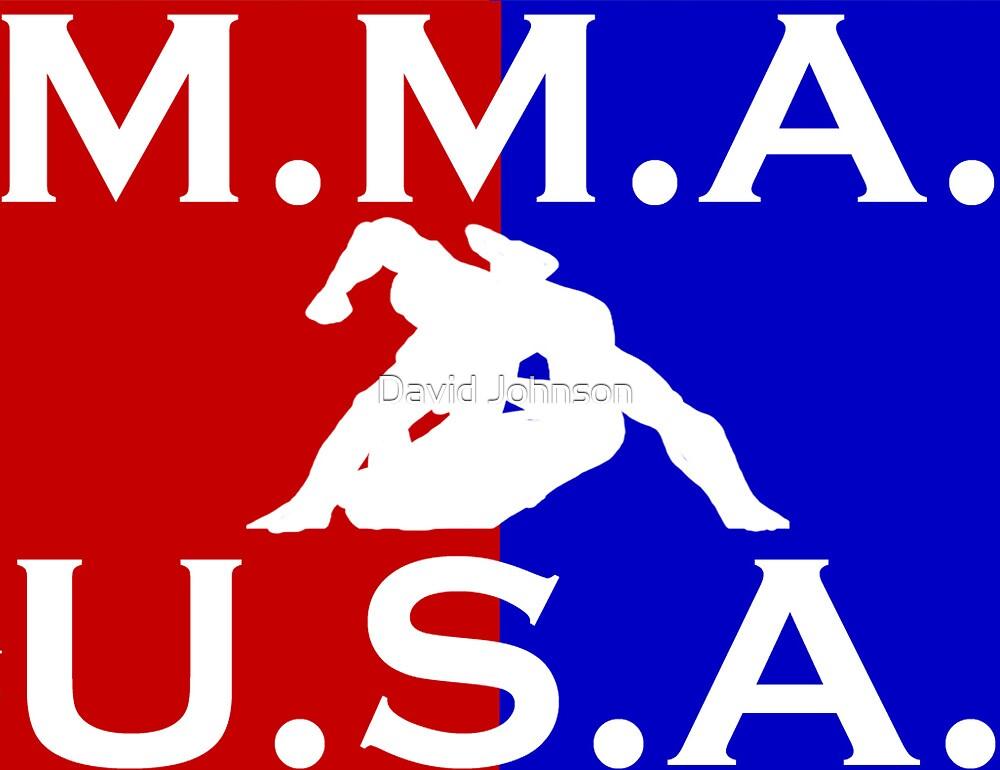 U.S.A. M.M.A. logo 3 by Euvari