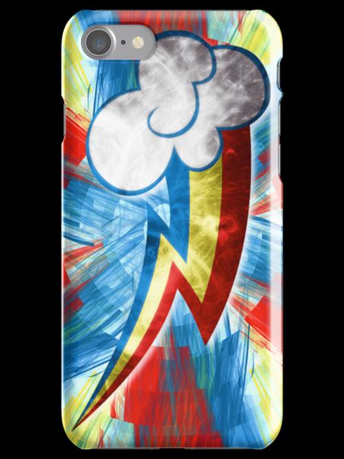 Rainbow Dash Fractal Flame Effect by Aslfrasle
