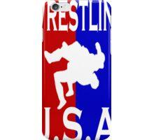 U.S.A. Wrestling logo iPhone Case/Skin