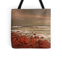 Storm Approaching Cornwall Tote Bag