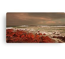Storm Approaching Cornwall Canvas Print
