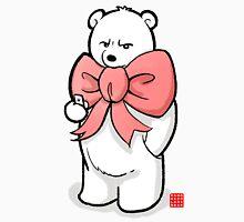 Polar Bear In Pink Ribbon Unisex T-Shirt