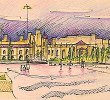 Jerónimos sketch III by terezadelpilar~ art & architecture