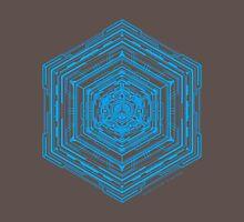 Anatomy of a Cube (Blue) Unisex T-Shirt