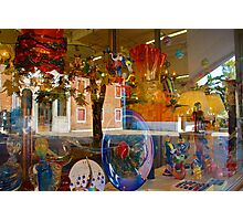 Murano Glass Plates Photographic Print