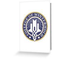 Skyrim - College of Winterhold Greeting Card