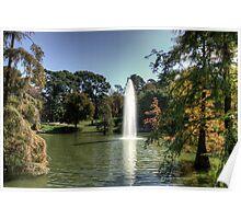 Palacio de Cristal Lake Poster