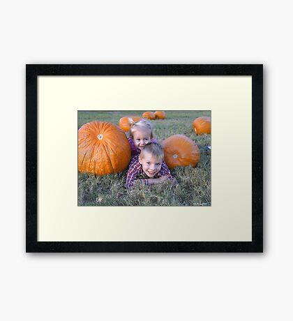 Fall Fun Framed Print