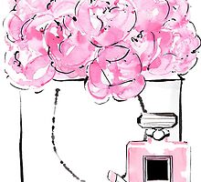 Flowers pink by whatkimydid