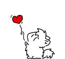 Kitties Love! Photographic Print
