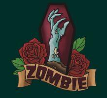 Zombie Coffin by screamingtiki