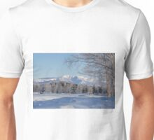 Winter landscape Japan Unisex T-Shirt