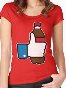 I Like Soda Women's Fitted Scoop T-Shirt