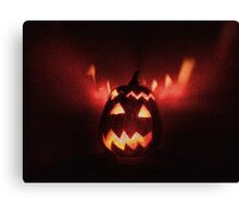 Jack-o'-lantern, Halloween is coming! Canvas Print