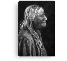 Chief White Mountain (Apache) Canvas Print