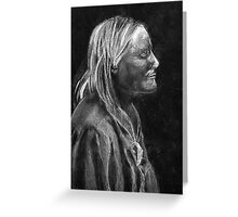 Chief White Mountain (Apache) Greeting Card