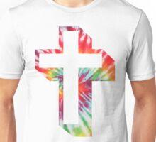 tie-dye-cross Unisex T-Shirt