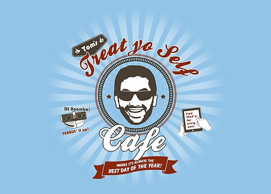 Treat Yo Self Cafe by thehookshot