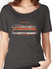 Distressed Charger Women's Relaxed Fit T-Shirt