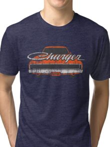 Distressed Charger Tri-blend T-Shirt