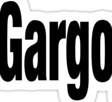 Gargoyle Sticker