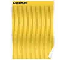 Bahaus Spaghetti Poster
