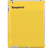 Bahaus Spaghetti iPad Case/Skin