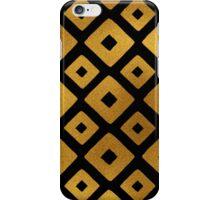 Gold Foil Art Deco Pattern iPhone Case/Skin