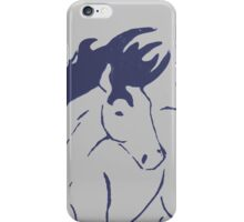 Slate Pony iPhone Case/Skin