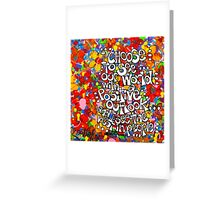 I Choose To See Greeting Card