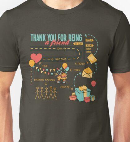 Pals and Confidants Unisex T-Shirt