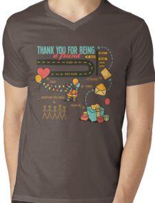 Pals and Confidants Mens V-Neck T-Shirt