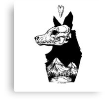 Black Dog Mountain Canvas Print