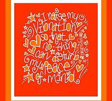 I Raise My Vibration... by Sammy Nuttall