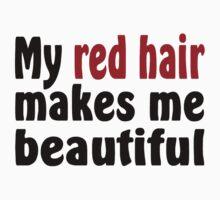 Red Hair Kids Tee