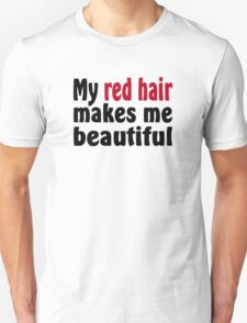 Red Hair Unisex T-Shirt