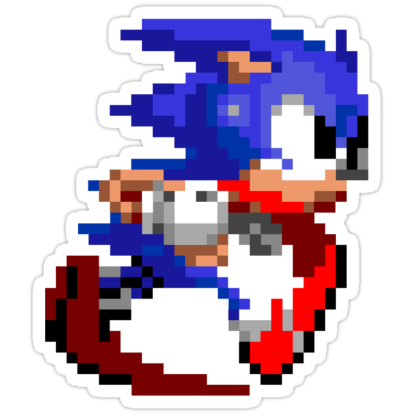 8-Bit Hedgehog by impulsiVdesigns
