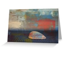 Lone Shell Greeting Card