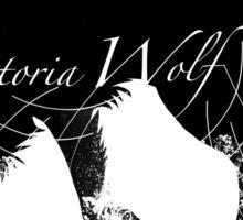 VictoriaWolf Sticker Sticker