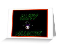 Holloween Mouse  Greeting Card