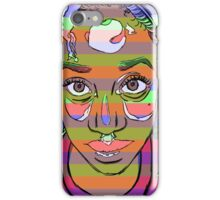 Africana Electronica iPhone Case/Skin