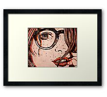 Le Regard Framed Print