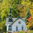 A Charming Church by lorilee