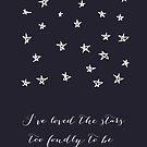 the stars by beverlylefevre