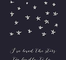 the stars by beverlylefevre