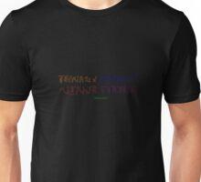 Teenage Mutant Ninja Turtles Ambigram Unisex T-Shirt