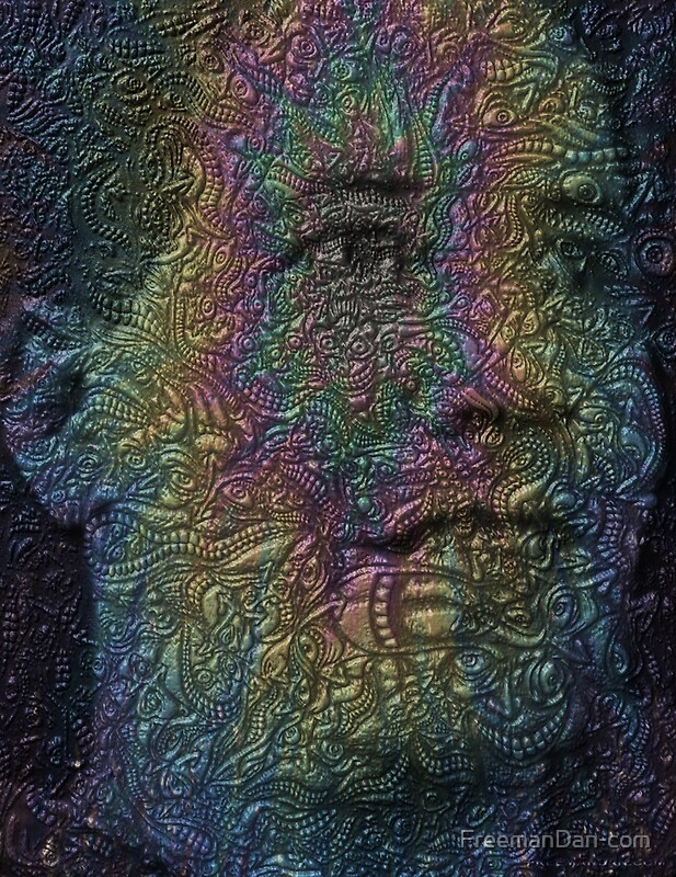 quotpsychedelic faces trippy psychedelic postersquot art