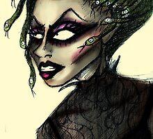 Yara Sofia as Medusa by Hannah Chusid